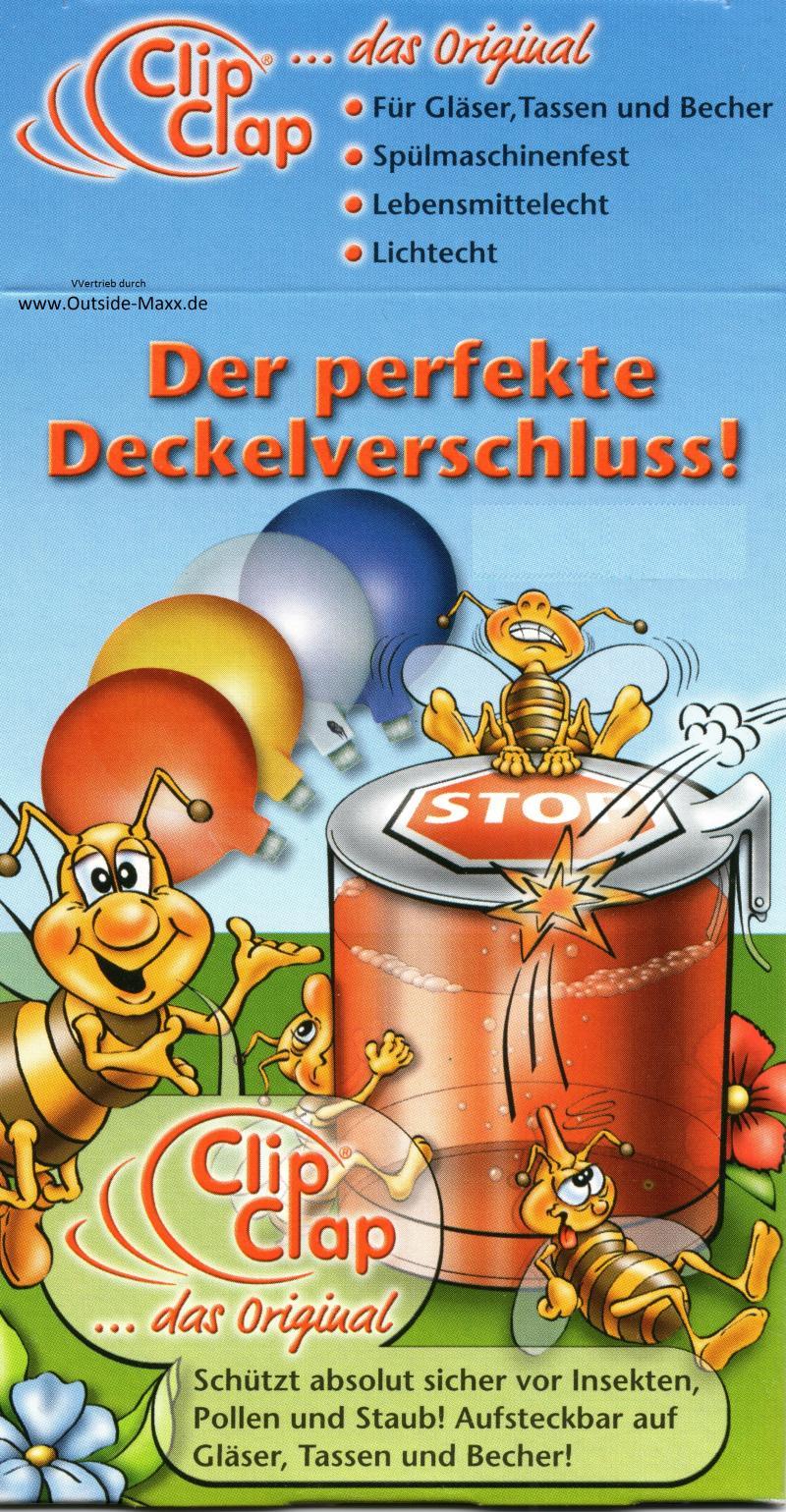 "10 x ClipClap-Deckel XXL "" München """