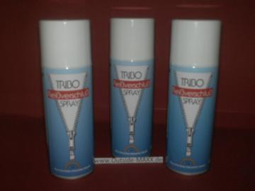 3 x TRIBO Reißverschlußspray 200 ml