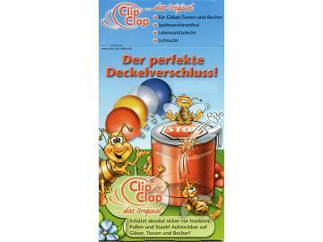 4 x ClipClap-Deckel QUATTRO