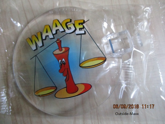 "ClipClap-Deckel "" Waage"""