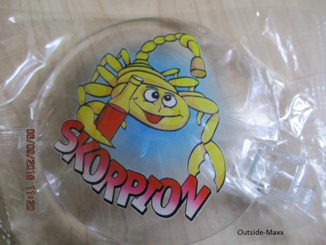"ClipClap-Deckel "" Skorpion """