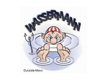 "ClipClap-Deckel "" Wassermann "" """