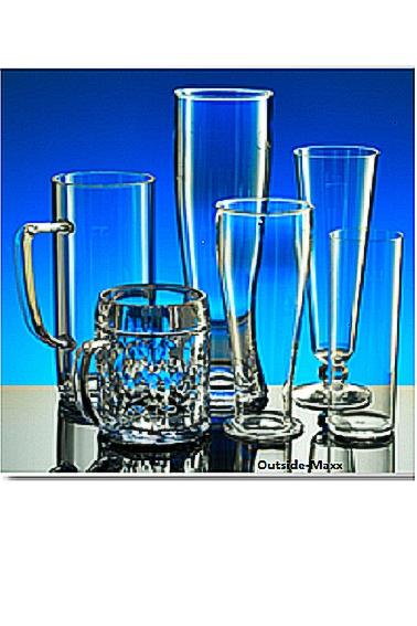 Weizenbierglas 0,5 l aus SAN-Kunststoff